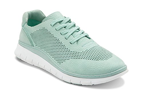 Vionic Women's Fresh Joey Lace-up Sneaker- Lades Light Weight Walking Sneakers with Concealed Orthotic Arch Support Mint 9M US