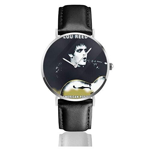 Reloj para Hombres y Mujeres Lou Reed American Poet Band Moda Negocio...