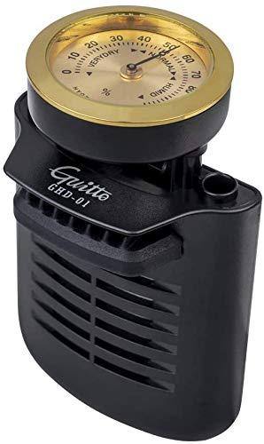 CAMOLA Gitarren-Luftbefeuchter Tragbares 2-in-1 Feuchtigkeitspflegesystem für Akustikgitarre Luftbefeuchter Hygrometer für Folk-Gitarre Konzertgitarre