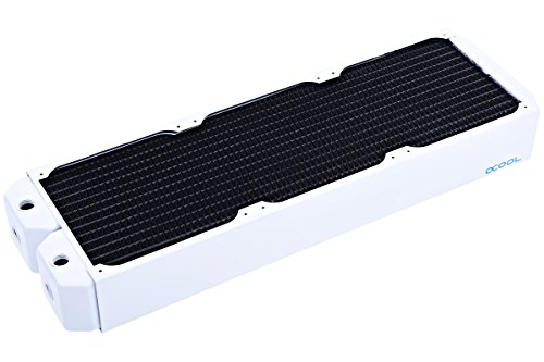 Alphacool 14208 NexXxoS UT60 Full Copper 420mm Radiator - White Special Edition Wasserkühlung Radiatoren