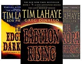 BABYLON RISING 4-book Series Set -- Babylon Rising / The Secret on Ararat / The Europa Conspiracy / The Edge of Darkness