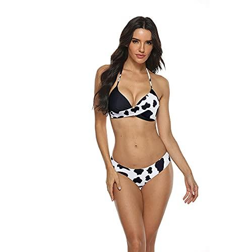Traje De Baño Bikinis Mujeres Push-Ups Bikini Traje De Baño Conjunto Traje De Baño Sexy Conjunto De Dos Piezas Para Mujer Traje De Baño Independiente Traje De Baño Brasileño Tallas Grandes Xxxl-08-C