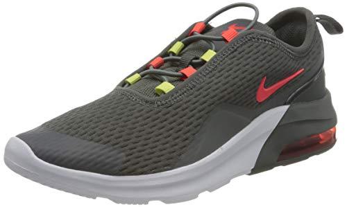 Nike Air Max Motion 2 (PSE), Sneaker, Grigio Rosso Bianco, 30 EU