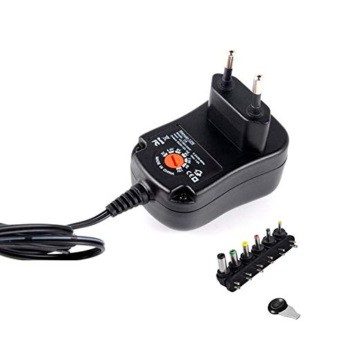 Suppyfly Universal Mains AC/DC Power Source Adaptor Supply Plug Charger 3V-12V