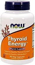 NOW Supplements, Thyroid Energy, Iodine and Tyrosine plus Selenium, Zinc and Copper, 90 Veg Capsules