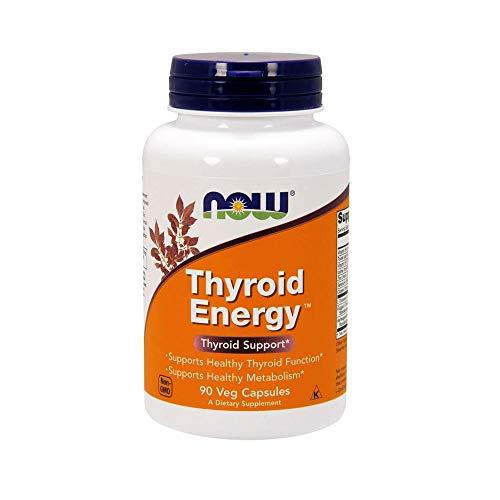 Now Foods Thyroid Energy Schilddrüsenenergie 90 vegane Kapseln