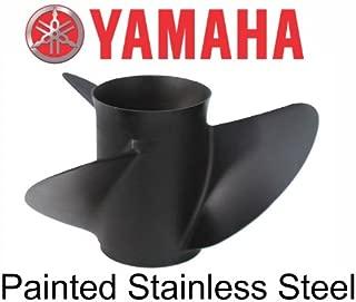 OEM Yamaha Black Steel 3 Blade Prop Propeller 13 3/4 x 19 6G5-45974-03-00