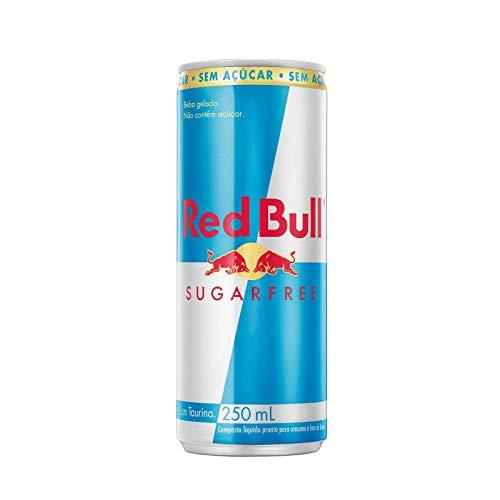 Energético Red Bull Energy Drink, Sem Açúcar, 250 ml