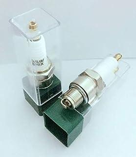 Yanan-Engine Spark Plug HOT Iridium Spark Plug BR8HIX 4pcs Fit for BR8HS BR8HS-10 BR8HS10 BR8HV BR8HVX BR8HSA E8RTC IWF24 W24FS-GU W24FS-ZU W3AP W3AS Ignition&Tools
