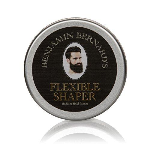 Styling-Creme Haarstyling für Männer - Shaper Cream von Benjamin Bernard - auf Wasserbasis - formend & flexibel - 100 ml Metallbehälter