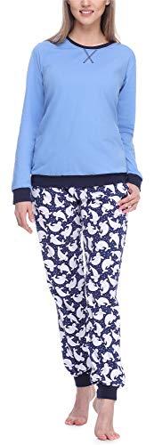 Merry Style Pijama Conjunto Camiseta y Pantalones Mujer MS10-168