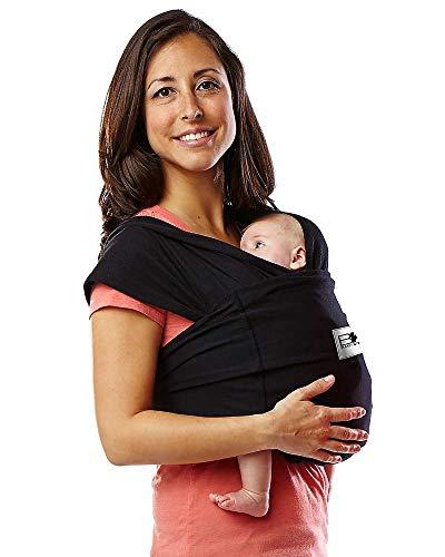 Baby K'tan Baby Carrier, Black, Medium Color: Black Size: Medium NewBorn, Kid, Child, Childern, Infant, Baby