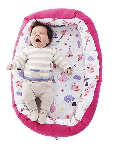 Nido para bebes nest reductor protector cuna para cama desenfundable Edad 0...