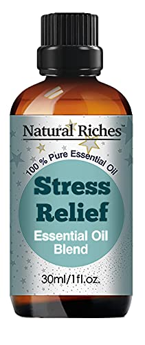 Natural Riches Stress Relief Essential Oil Blend Anxiety...