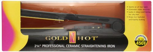 "Gold N Hot GH2145 2-1/4"" Professional Ceramic Flat Iron"