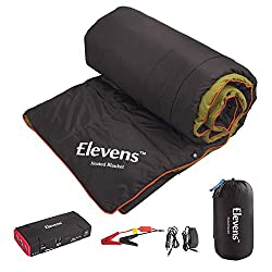 A portable heated blanket for after SUP
