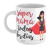 SUPERMOLON Taza'Súper Mamá todos los días'