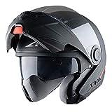 Astone Helmets Casque Modulable RT800, Noir Mat, L