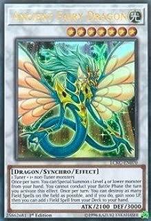 Yu-Gi-Oh! Ancient Fairy Dragon - LCKC-EN070 - Ultra Rare - 1st Edition - Legendary Collection Kaiba Mega Pack (1st Edition)