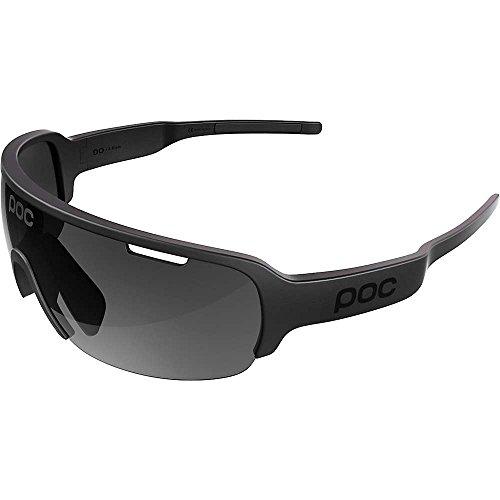 POC DO Half Blade Sonnenbrille, Unisex, für Erwachsene Einheitsgröße Schwarz (Uranium Black)