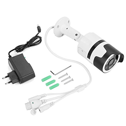 Lafey Cámara de Seguridad de visión Nocturna Cámara de Seguridad de Audio bidireccional(100-240V European Standard)