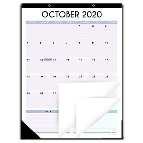 Fridge Calendar 2020-2021 for Refrigerator by StriveZen, 12x16 Inches, Large Monthly Magnetic Calendar, Vertical, Oct 2020-Dec 2021, Perfect for Fridge, Locker, Cabinets, Home-Office, Busy Families