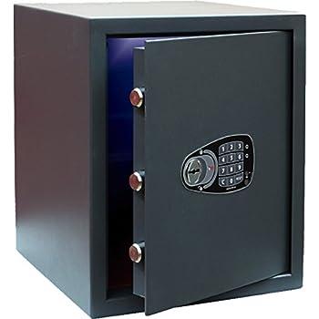 puerta de 5 mm y cerradura tubular de emergencia Caja fuerte fabricada en acero con 2mm de espesor Olle EOS 100E
