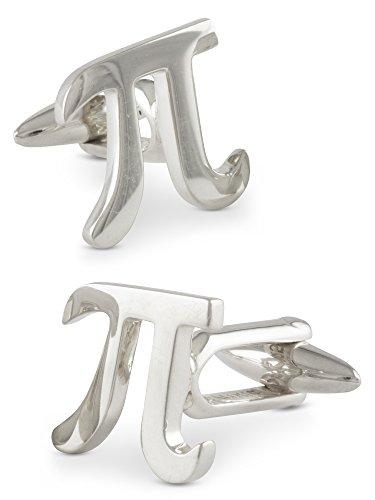 ZAUNICK Pi Manschettenknöpfe Silber 925 handgefertigt