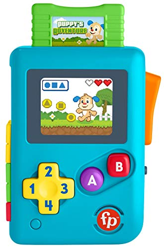 FisherPrice Laugh amp Learn Lil' Gamer Educational Musical Activity Toy for Baby and Toddlers Ages 636 Months