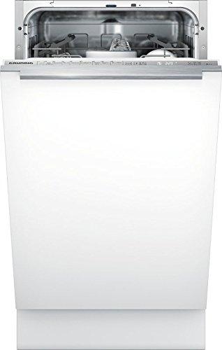 Grunding - Lavavajillas GSV41921, 45 cm, empotrable, 9 programas