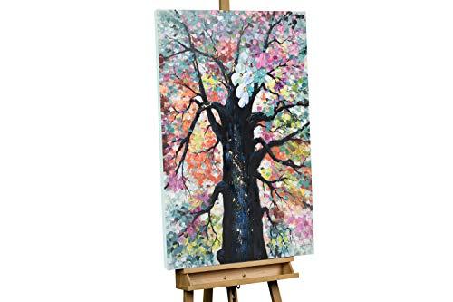 KunstLoft® Peinture Acrylique sur Toile 'Splendeur de la Nature' 80x120cm Peinte à la Main