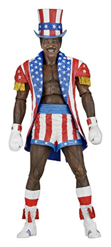 Rocky 40th Anniversary Series 2 Apollo Creed (Uncle Sam Hat And Coat)