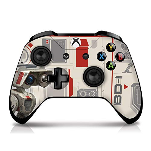 Controller Gear Authentic and Officially Licensed Star Wars Jedi: Fallen Order - Xbox One Controller Skin - Bd-1 - Xbox One Controller Sold Separately