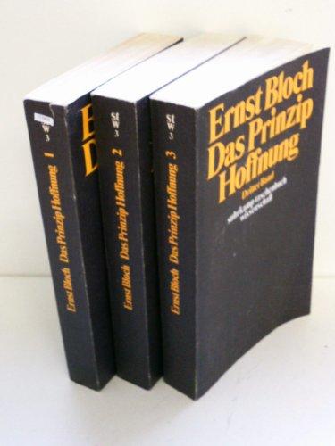 Das Prinzip Hoffnung. 3 Bände
