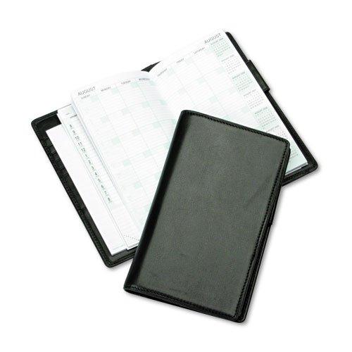 Orgnzr Starter Set,Fine-Grained Leather,3-1/2 quot;x6-1/2 quot;,BK