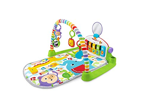 Fisher-Price Kick and Play - Alfombrilla para jugar al piano