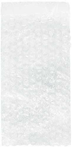 100 packs 4x7.5 SELF-SEAL CLEAR BUBBLE OUT POUCHES BAGS 3/16