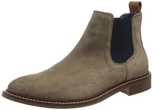 Marc O'Polo Herren 00125855001300 Chelsea Boots, Beige (Taupe 717), 43 EU