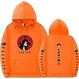 Y-PLAND Suéter con Capucha De Naruto, Sudadera Casual para Hombres Y Mujeres, Sudadera con Estampado De Itachi Akatsuki-4_L