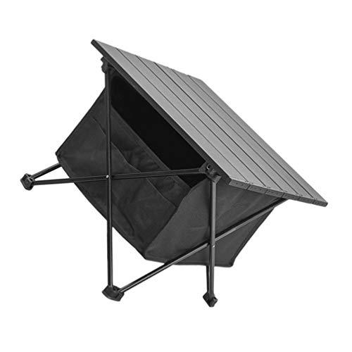 Homoyoyo Mesa Plegable para Acampar Aleación de Aluminio Mesa Enrollable de Picnic Portátil Mesa de Picnic Plegable con Bolsa de Almacenamiento Escritorio Ligero para Acampar para Caminar