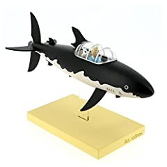 Moulinsart Resin Figure The Submarine Shark - Icons Collection, Adults, Unisex, Black, One Size #2