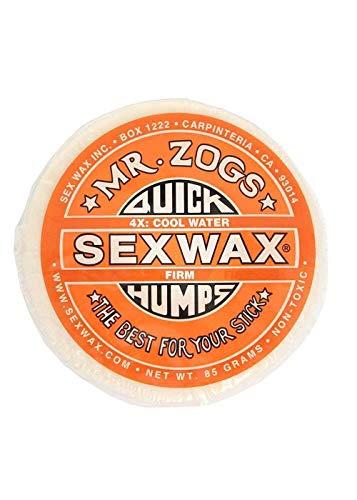 Sex Wax Surf Wax Quick Humps orange Firm Surfwachs