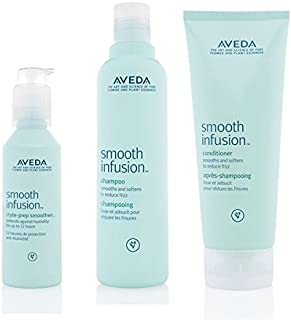 Aveda Smooth Infusion Trio- Shampoo 250ml, Conditioner 200ml & Style Prep Smoother 100ml