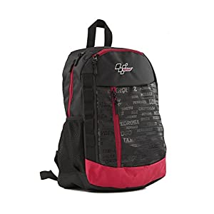 41ZFHvL3K2L. SS300  - MotoGP Schulrucksack/Backpack Red/Black 35l 3 Reißverschlussfächern Mochila Tipo Casual, 45 cm, 35 Liters, Multicolor (Red/Black)