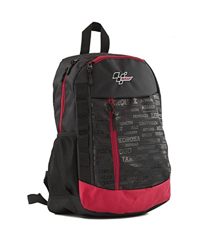 41ZFHvL3K2L - MotoGP Schulrucksack/Backpack Red/Black 35l 3 Reißverschlussfächern Mochila Tipo Casual, 45 cm, 35 Liters, Multicolor (Red/Black)