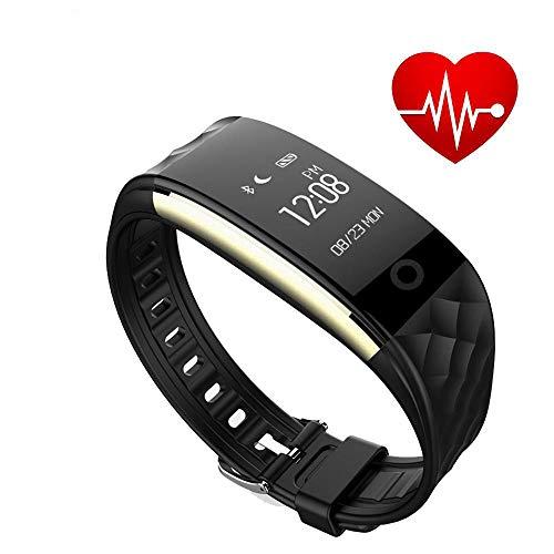 Mengen88 Smart hartslag armband Oproep informatie display sport stappenteller Bluetooth horloge slimme herinnering positionering Van toepassing op Android IOS mobiele telefoon