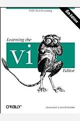 Learning the vi Editor (Nutshell Handbooks) Paperback