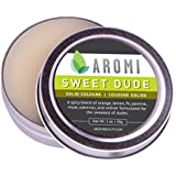 Solid Cologne | Best Spicy, Citrus Scent, Men's Fragrance, Affordable Cologne, Vegan, Cruelty-free, Travel, Portable | 1 oz, (Sweet Dude)