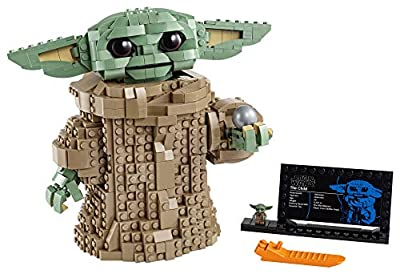 LEGO Star Wars: The Mandalorian The Child 75318 Building Kit; Collectible Buildable Toy Model for Ages 10+, New 2020 (1,073 Pieces) from LEGO