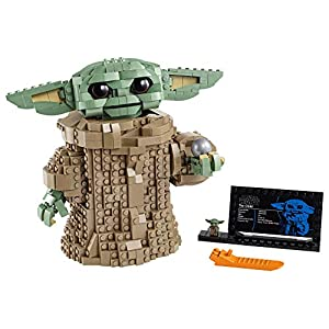LEGO Star Wars: The Mandalorian The Child 75318 Building Kit; Collectible Buildable Toy Model for Ages 10+, New 2020 (1… - 41ZFIkRjwLL - LEGO Star Wars: The Mandalorian The Child 75318 Building Kit; Collectible Buildable Toy Model for Ages 10+, New 2020 (1…